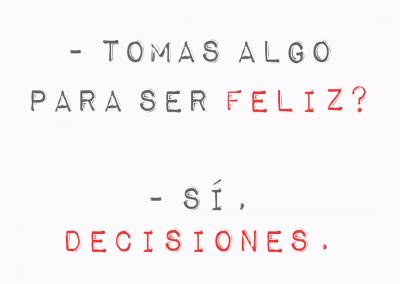 decisiones y felicidad