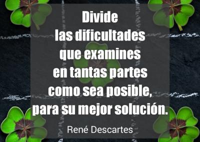 divide las dificultades