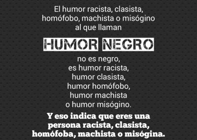 humor y discriminacion