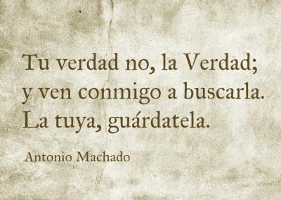 la Verdad Machado