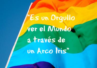 arco iris orgullo