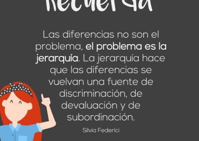 las diferencias no son el problema