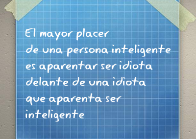 mayor placer persona inteligente