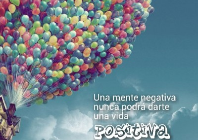 mente negativa nunca positivo