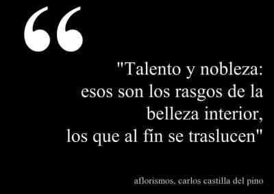 talento y nobleza