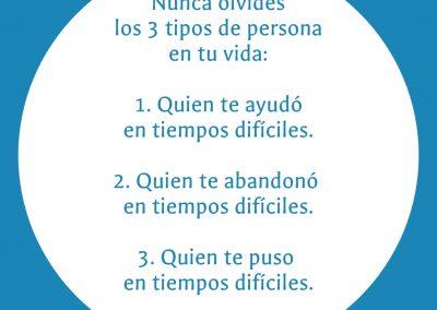 3 tipos de personas en tu vida