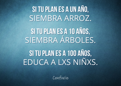 Confucio plan educar