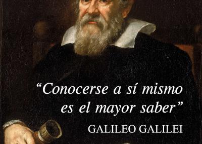 conocerse y saber Galileo