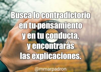 contradicciones y explicaciones