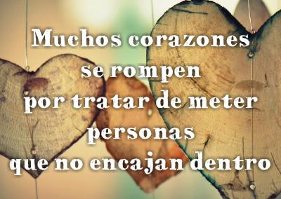 corazones se rompen