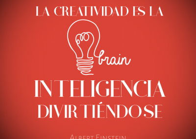 creatividad es inteligencia
