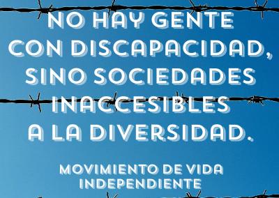discapacidad y sociedad