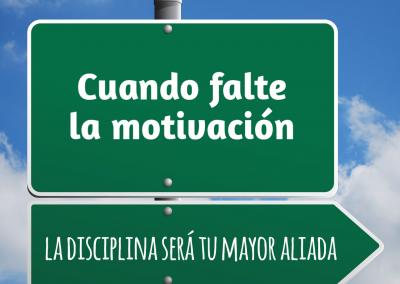 disciplina y motivación