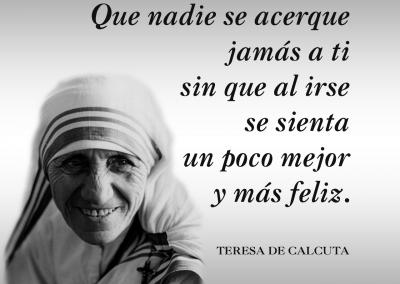feliz Teresa de Calcuta