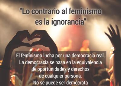 feminismo e ignorancia