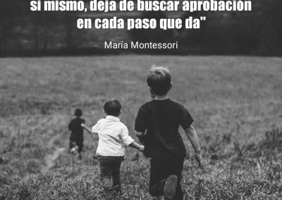 infancia y seguridad Montessori