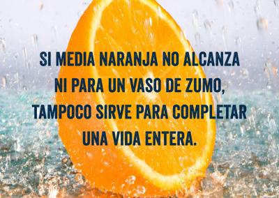 media naranja no sirve