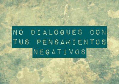 pensamientos negativos