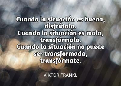 transformar situaciones